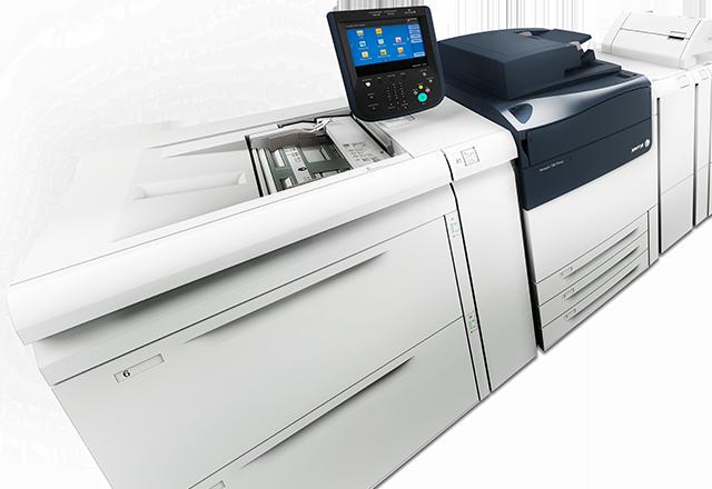 Prensa Xerox Versant 180 Tecnología adaptive CMYK Plus de Xerox