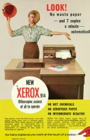 Xerox, la primera fotocopiadora de la historia