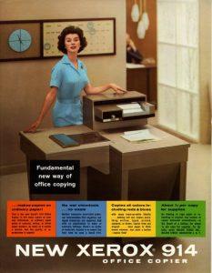 Xerox 914 Cribsa Barcelona Historia 2 233x300 Curiosidades de Xerox que la hacen líder en innovación