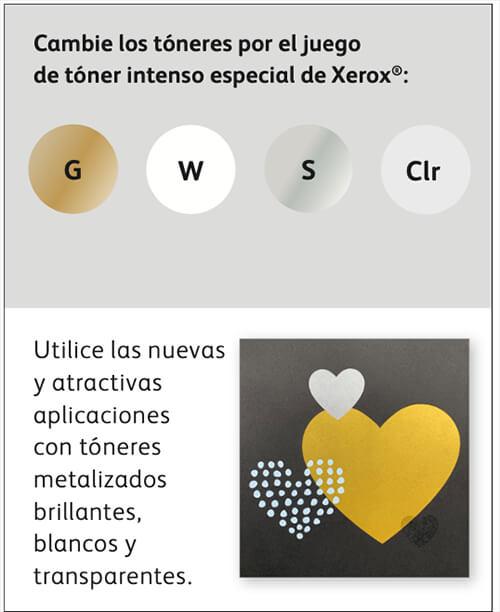 Cribsa Xerox colores Brillantes transparente impresora A3 A4 Nuevo módulo CMYK+ para la Prensa Versant 180 de Xerox