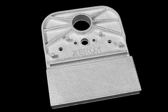 Folding Bracket Xerox 540x360 1 Xerox® ElemX la impresión 3D de metal líquido